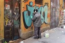 Rimozione graffiti al Teatro Comunale